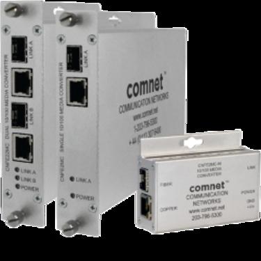 Convertisseur industriel 10/100Mbps vers Fibre Optique SFP - Comnet