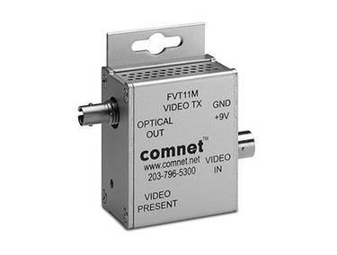 Mini Emetteur vidéo Analogique sur 1 Fibre Multimode - COMNET