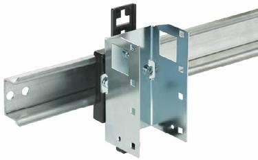 Support Rail DIN pour Micro Switch Génération 6 - MICROSENS