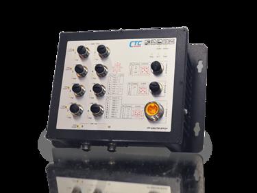 ITP802-GTM switch EN50155 IP67 CTC UNION