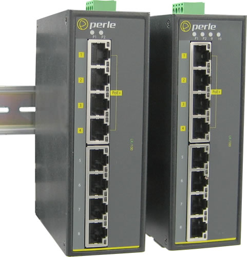 Switch Industriel Poe Fast Ethernet Perle Systems
